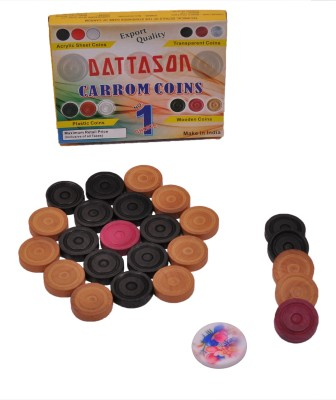 Dattason STC Coins 8 cm Carrom Board(Multicolor)  available at flipkart for Rs.196