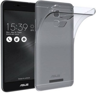 SRT Back Cover for Asus Zenfone 3 Max(Transparent, Dual Protection, Rubber)