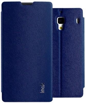 Heartly Flip Cover for Mi Redmi 1S Blue