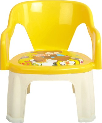 Baybee Plastic Chair(Finish Color - Yellow)