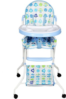 Continental Foladable High Chair , Baby Dining Chair with wheel- Blue ( Model-8013 )(Blue)  available at flipkart for Rs.3449
