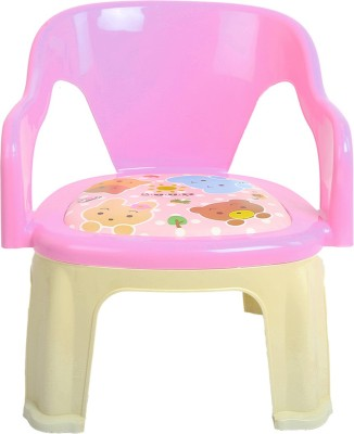 Baybee Plastic Chair(Finish Color - Pink)