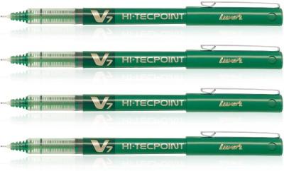 Pilot Hi-Tecpoint V7 Roller Ball Pen(Pack of 4)  available at flipkart for Rs.240