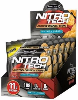 Muscletech Performance Series Nitrotech Chrunch Protein Chips(125 g, Sea Salt and Vinegar)