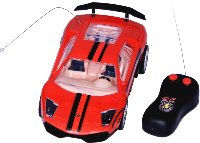 Homeshopeez Remote Control Super Famous Sports Car - Rd(Red)  available at flipkart for Rs.375