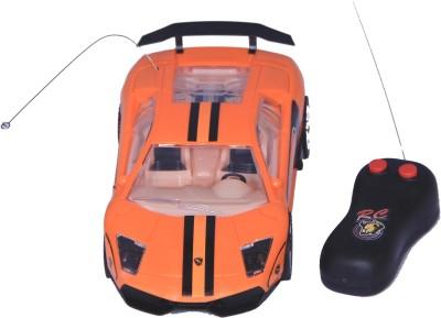 Homeshopeez Remote Control Super Famous Car-Orng(Orange)  available at flipkart for Rs.375