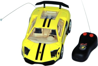 Homeshopeez Remote Control Super Famous Car - Ylw(Yellow)  available at flipkart for Rs.375