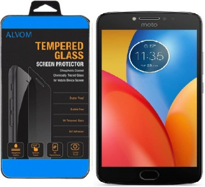 Alvom Tempered Glass Guard for Motorola Moto E4 Plus(Pack of 1) at flipkart