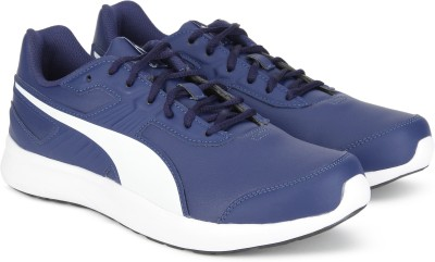 cozy fresh official photos on feet at Puma Escaper SL IDP Running Shoes For Men(Blue)