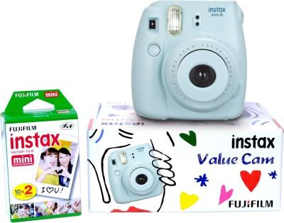 Fujifilm Instax Camera Instax Mini 8 Value Cam (Blue) Instant Camera(Blue)
