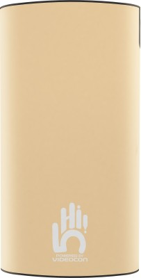 Videocon 10000 mAh Power Bank (VH-0B100P02)(Rose Gold, Lithium Polymer)