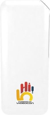 Videocon 10000 mAh Power Bank (VH-0B100L01)(White, Lithium-ion)