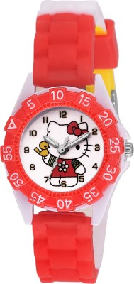 SOOMS DESINGER AND FANCY KITTY CARTOON PRINTED ON TINNY DIAL KIDS & CHILDREN Watch  - For Boys & Girls