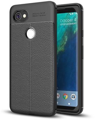 Spigen Back Cover for Google Pixel 2 XL(Black, Rugged Armor, Plastic)