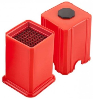 SS FAMOUS KITCHENWARE FRENCH FRIES MAKER/POTATO CUTTER Chopper(Red)  available at flipkart for Rs.200