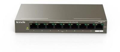 TENDA TEF1109P-8-63W Network Switch(Black)