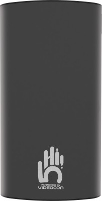 Videocon 10000 mAh Power Bank (VH-0B100P02)(Black, Lithium Polymer)