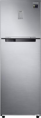 Samsung 253 L Frost Free Double Door 2 Star Refrigerator(Elegant Inox, RT28M3022S8-HL/ RT28M3022S8-NL)