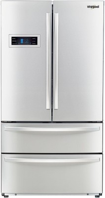 Whirlpool 570 L Frost Free French Door Bottom Mount Refrigerator(Silver, 702 FDBM)