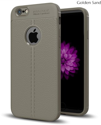 Golden Sand Back Cover for Apple iPhone 6, Apple iPhone 6s(Grey, Rugged Armor)