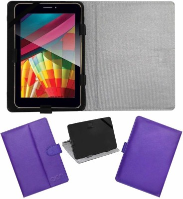 ACM Flip Cover for Iball Slide Q7271 Ips20 3g(Purple, Cases with Holder)