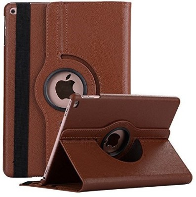 Robustrion Flip Cover for Apple iPad 5th Gen 9.7 inch, Apple iPad 6th Gen 9.7 inch, Apple iPad 9.7 inch, Apple iPad Air 9.7 inch(Brown, Cases with Holder)