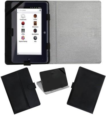 ACM Flip Cover for Iball Slide I7218(Black, Cases with Holder)