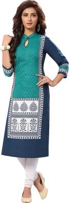 Ishin Cotton Printed Kurti Fabric(Un-stitched)