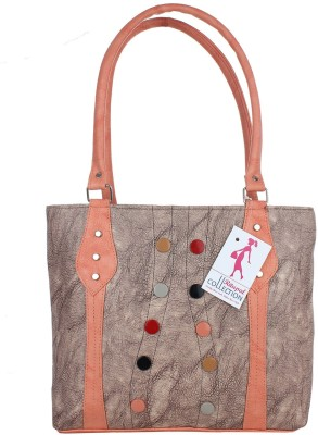 Ritupal Collection Hand-held Bag(Brown)