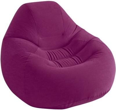 Intex PVC 3 Seater Inflatable Sofa(Color - Purple)