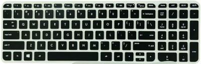 Saco Keyboard Skin for 15-r245TX 15.6-inch Laptop Laptop Keyboard Skin(Black, Transparent)