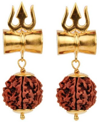 S.Blaze Combo of 2 Amazing 8 Mukhi/Faced Rudraksha Pendant, Indonesia/ Java Originated, (Bead Size: 10-14mm) With Silver Coated Capping | 100% Original & Natural Rudrakash | Wood Pendant, Pack of 2 Yellow Gold Beads Wood Pendant  available at flipkart for Rs.351