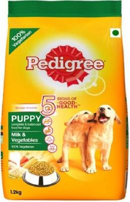 Pedigree Puppy Milk, Vegetable 1.2 kg Dry Dog Food