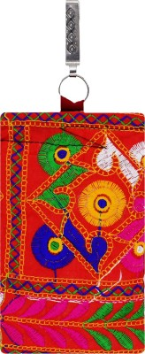 59e769088f6 62% OFF on Bagaholics Ethnic Raw Silk Saree Clutch Mobile Pouch Ladies  Purse Gift For Women Waist Clip Mobile Pouch(Orange) on Flipkart | ...