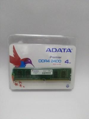 ADATA PREMIER DDR4 4 GB (Single Channel) PC DRAM (AD4U2400J4G17)(Green)