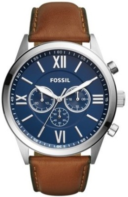 Fossil BQ2310 LUTHER 3H Watch  - For Men