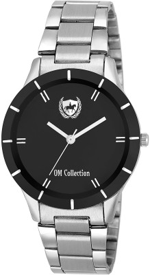Om Collection beautiful black dail designer girls/women/ladies watch_omwt-34 Watch  - For Girls   Watches  (OM Collection)