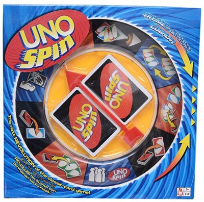 Akrobo Uno Spin Card Game(Multicolor)  available at flipkart for Rs.700