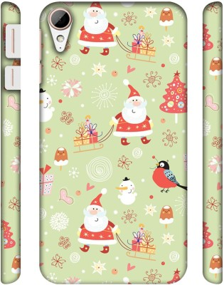 Casotec Back Cover for HTC Desire 828 Dual(Multicolor, Plastic)