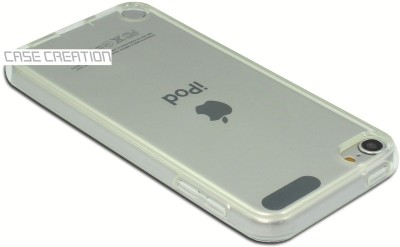 Case Creation Back Cover for Apple iPod Touch 5(Transparent, Dual Protection, Flexible Case)