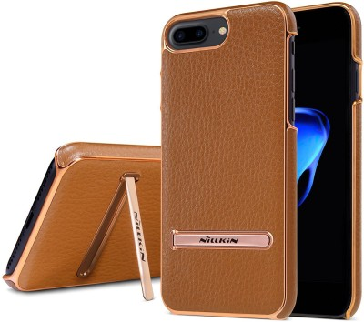 Vodex Back Cover for Apple iPhone 8(Brown, Grip Case)