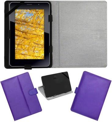 ACM Flip Cover for iBall Slide 3G 7271(Purple, Cases with Holder)