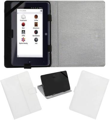 ACM Flip Cover for Iball Slide I7218(White, Cases with Holder)