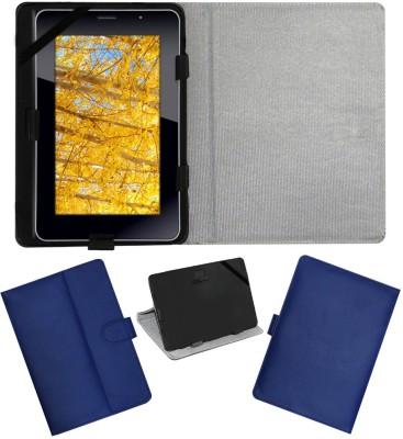 ACM Flip Cover for iBall Slide 3G 7271(Blue, Cases with Holder)
