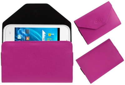 ACM Pouch for Spice Smart Flo Ivory 2 Mi-423(Pink, Cases with Holder)