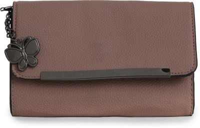 Butterflies Casual Khaki  Clutch at flipkart