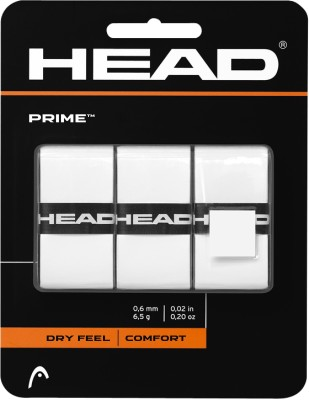 Head Prime Wht Gripper(White, Pack of 3)
