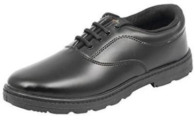 Lehar Boys Lace Derby Shoes(Black)