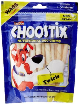 Choostix Twirls Dog Chew(150 g, Pack of 1)