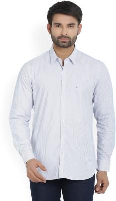 Indigo Nation Men's Striped Casual Shirt